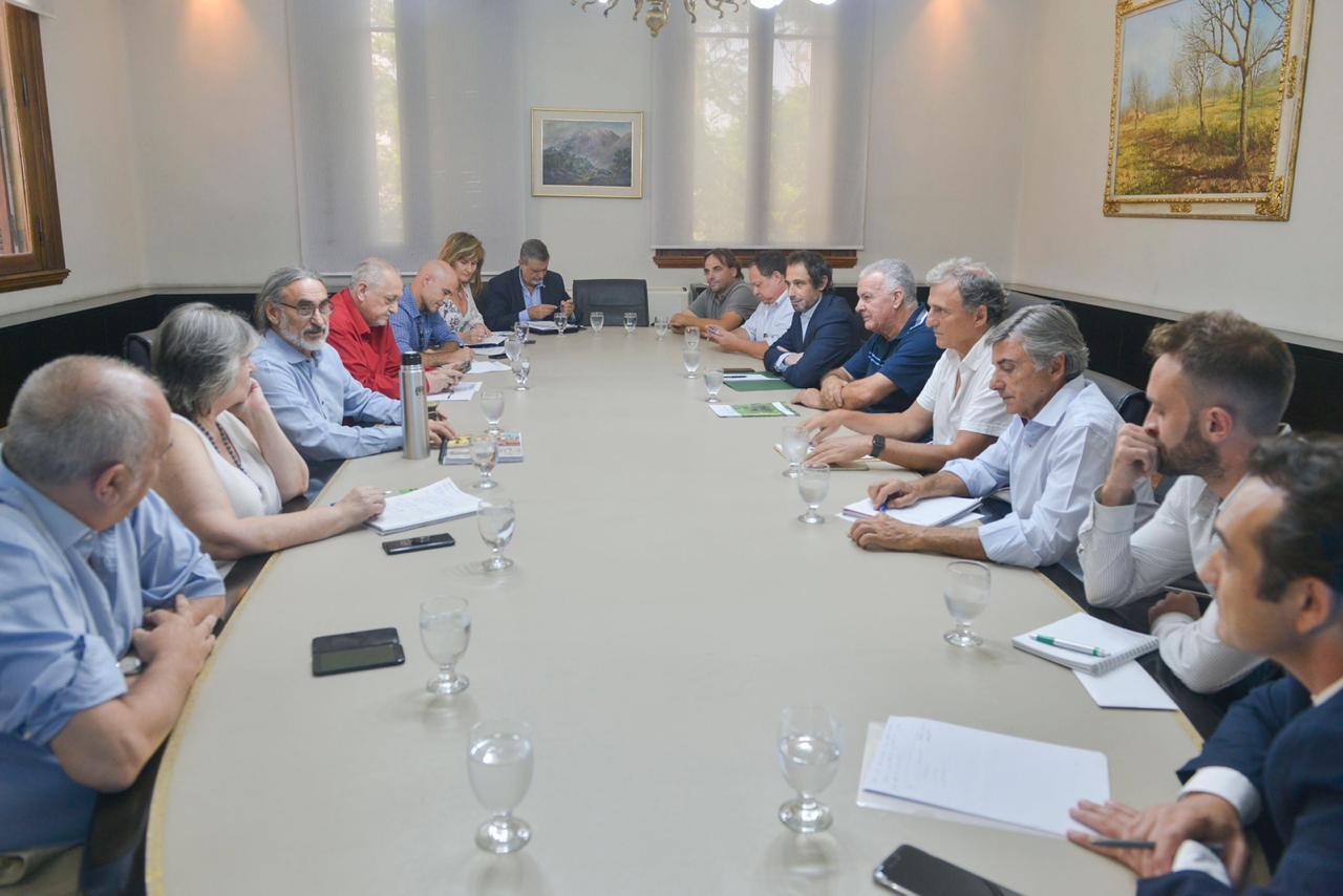 Reunión con Basterra enero 2020