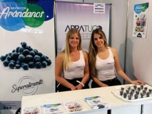 Junto a Apratuc (Asociación de Productores de Arándanos de Tucumán) en la Expo Tucumán 2017 Exposición Rural